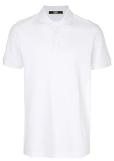 Karl Lagerfeld Karl head logo polo - White