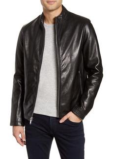 Karl Lagerfeld Leather Racer Jacket