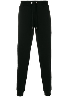 Karl Lagerfeld logo print sweat pants - Black