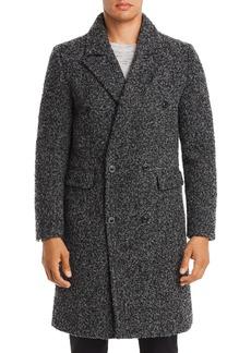 Karl Lagerfeld Marled Boucle 2-In-1 Overcoat