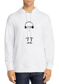 KARL LAGERFELD Paris Big Karl Hooded Sweatshirt
