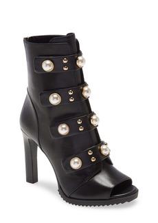 Karl Lagerfeld Paris Brayden Embellished Bootie (Women)