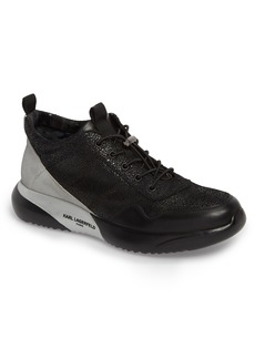 Karl Lagerfeld Paris Crackle Sneaker (Men)