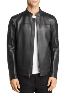 KARL LAGERFELD Paris Double-Faced Leather Jacket