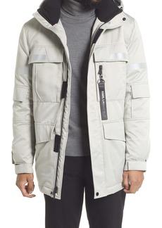 Karl Lagerfeld Paris Down & Feather Coat