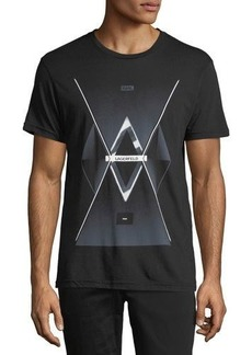 Karl Lagerfeld Paris Future Logo Graphic Tee