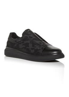 KARL LAGERFELD Paris Men's Leather Slip-On Sneakers