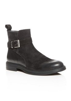 KARL LAGERFELD Paris Men's Leather & Suede Boots