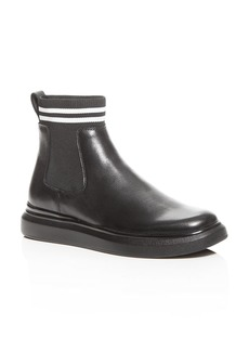 KARL LAGERFELD Paris Men's Leather Chelsea Boots