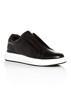 KARL LAGERFELD Paris Men's Leather Slip-On Sneakers