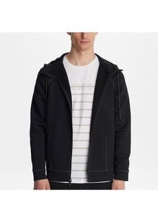 Karl Lagerfeld Paris Neoprene Track Jacket
