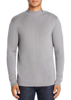 KARL LAGERFELD Paris Shoulder-Zip Sweater