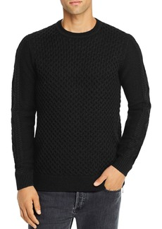 KARL LAGERFELD PARIS Slim-Fit Crewneck Sweater