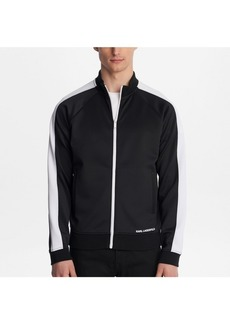 Karl Lagerfeld Paris Track Jacket With Contrast