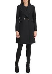Karl Lagerfeld Paris Women's Double Breasted Coat