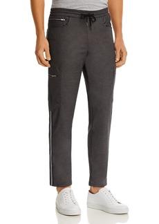 KARL LAGERFELD PARIS Zip Slim Fit Cargo Pants