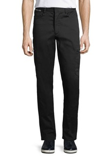 Karl Lagerfeld Paris Zipper-Pocket Cargo Pants