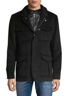 Karl Lagerfeld Wool-Blend Jacket
