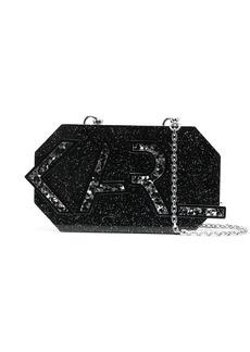 Karl Lagerfeld Karl Letters Minaudiere clutch