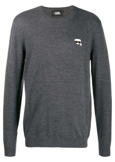 Karl Lagerfeld Karl patch jumper