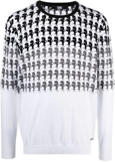 Karl Lagerfeld Karl-print cotton sweatshirt