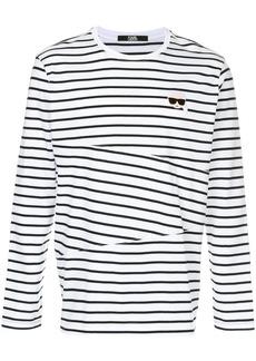 Karl Lagerfeld Karl striped sweatshirt