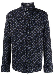 Karl Lagerfeld K/Arcade print shirt
