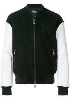 Karl Lagerfeld Karl varsity bomber jacket
