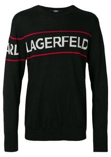 Karl Lagerfeld KL logo sweater