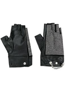 Karl Lagerfeld K/Seven Sparkle gloves