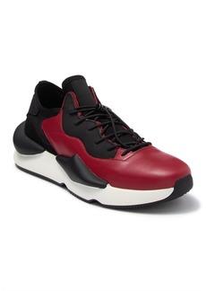 Karl Lagerfeld Leather & Neoprene Chunky Platform Sneaker
