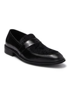 Karl Lagerfeld Leather & Velvet Loafer