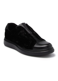 Karl Lagerfeld Leather Laceless Slip On Sneaker