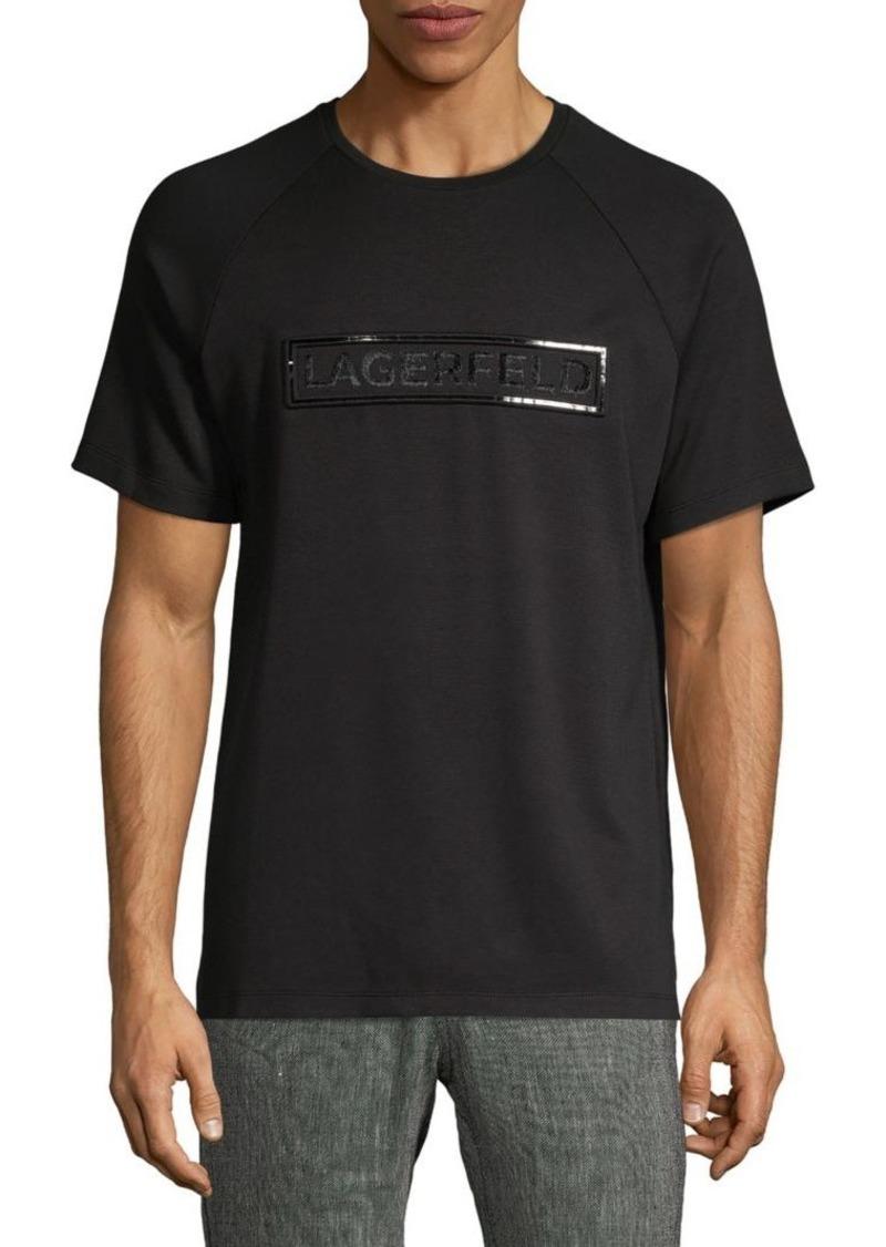 Karl Lagerfeld Logo Crewneck Tee
