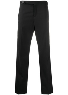 Karl Lagerfeld logo lined tailored trousers