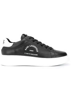 Karl Lagerfeld logo low-top sneakers