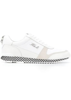 Karl Lagerfeld logo plaque sneakers
