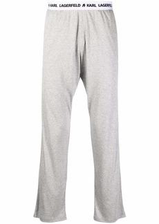 Karl Lagerfeld logo-tape sweatpants