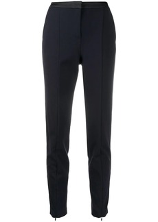 Karl Lagerfeld logo-tape tailored trousers