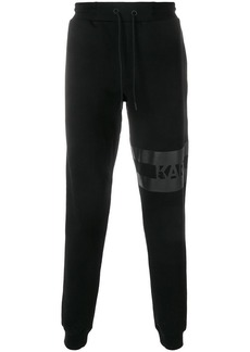 Karl Lagerfeld logo track trousers