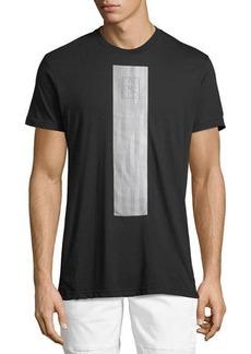 Karl Lagerfeld Men's Geo-Stripe Logo Graphic T-Shirt