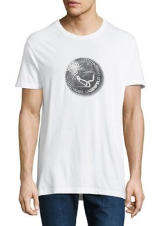 Karl Lagerfeld Men's Karl Coin Graphic Tee