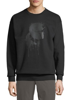 Karl Lagerfeld Men's Karl Head Graphic Sweatshirt
