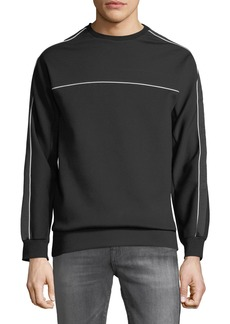 Karl Lagerfeld Men's Long-Sleeve Pullover Sweatshirt