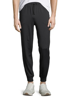 Karl Lagerfeld Men's Reflective-Striped Active Joggers