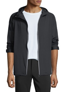 Karl Lagerfeld Men's Reflective-Striped Track Jacket