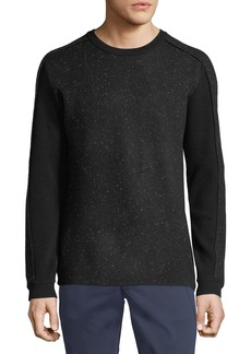 Karl Lagerfeld Men's Speckled Pullover Sweater