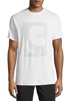 Karl Lagerfeld Men's Studded Logo-Outline T-Shirt
