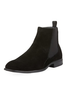 Karl Lagerfeld Men's Suede Chelsea Ankle Boots