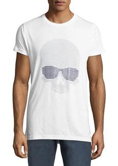 Karl Lagerfeld Men's Sunglasses-Skull Graphic T-Shirt